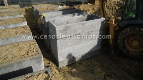 Caixas para sepulturas fornecidas a cemitérios