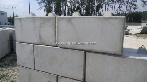blocos de suporte de terras