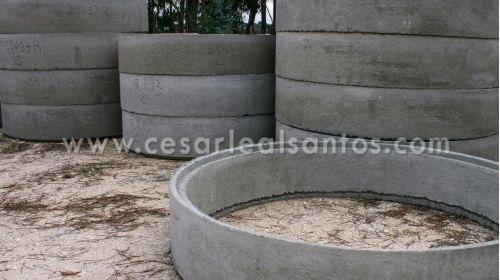 Anéis de Betão Simples ou Armado